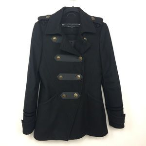 River Island Wool Blend Military Jacket